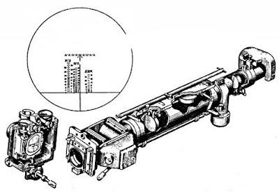 Телескопический шарнирный прицел ТШ-45 обр. 1945 г.