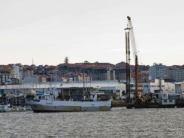 fotos de barcos, imagenes de barcos, dunboy, arrastrero, cork, vigo