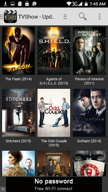 MegaBoxHD - Android app for movies download