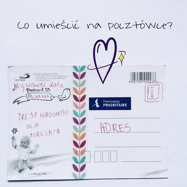 Co umieścić na postcrossingowej pocztówce?