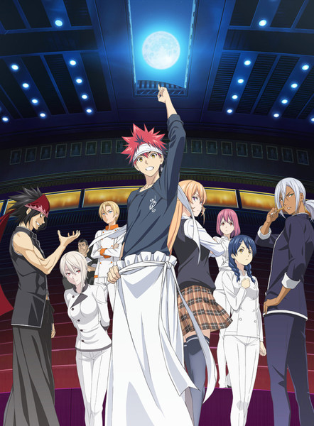 Anime Season 2 Food Wars! Shokugeki no Souma Diumumkan Visual