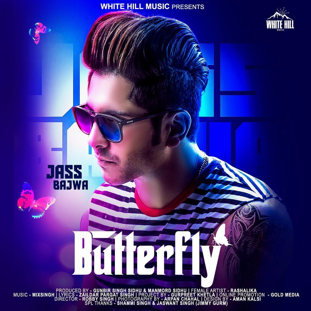 Butterfly - Jass Bajwa Lyrics