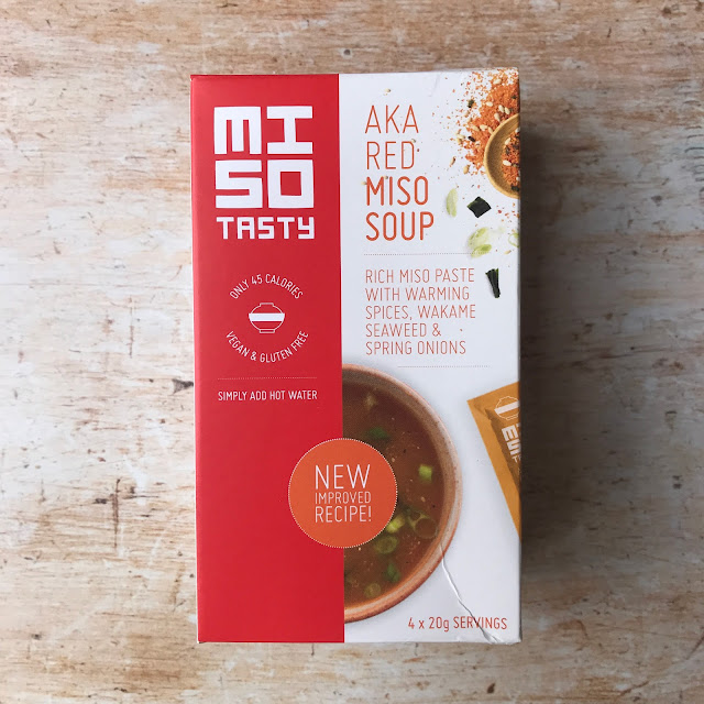July 2018 Degustabox contents: Miso Tasty Red Miso Soup