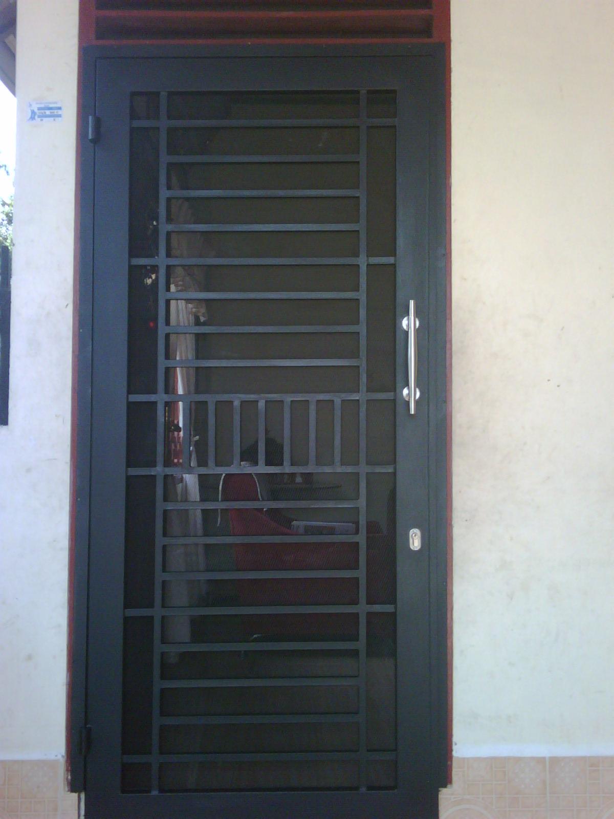 spesialis fabrikasi pintu besi Kepulauan Seribu