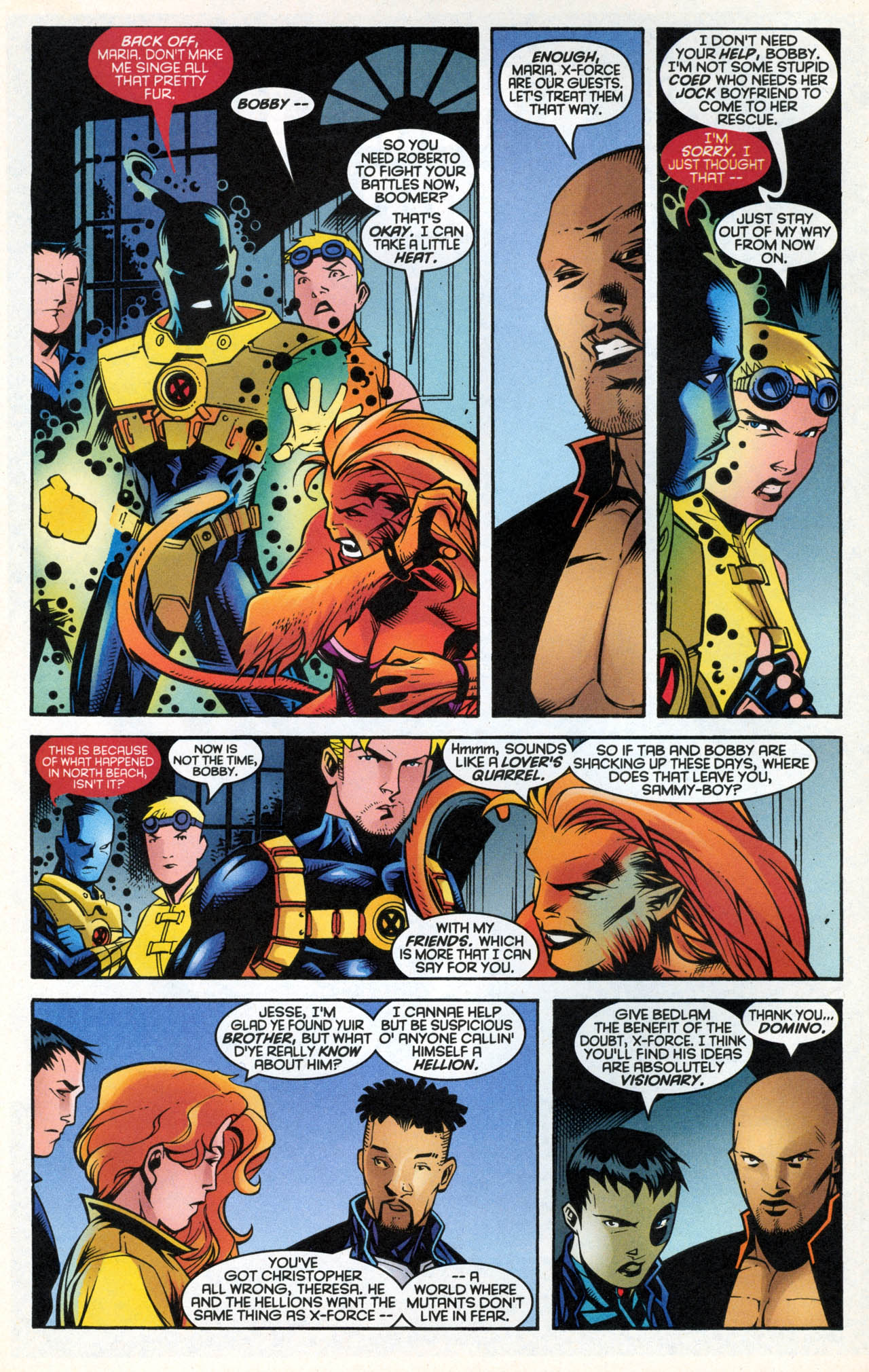Read online X-Force (1991) comic -  Issue #88 - 11
