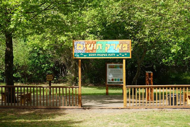 פארק החושים - שמורת טבע נחל שניר