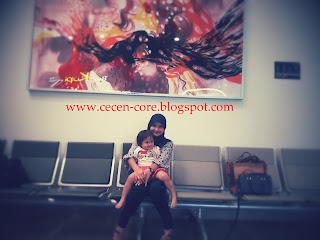 Epi Friezta Dewi Hasibuan & Clarissa - Bandara Husein Sastranegara