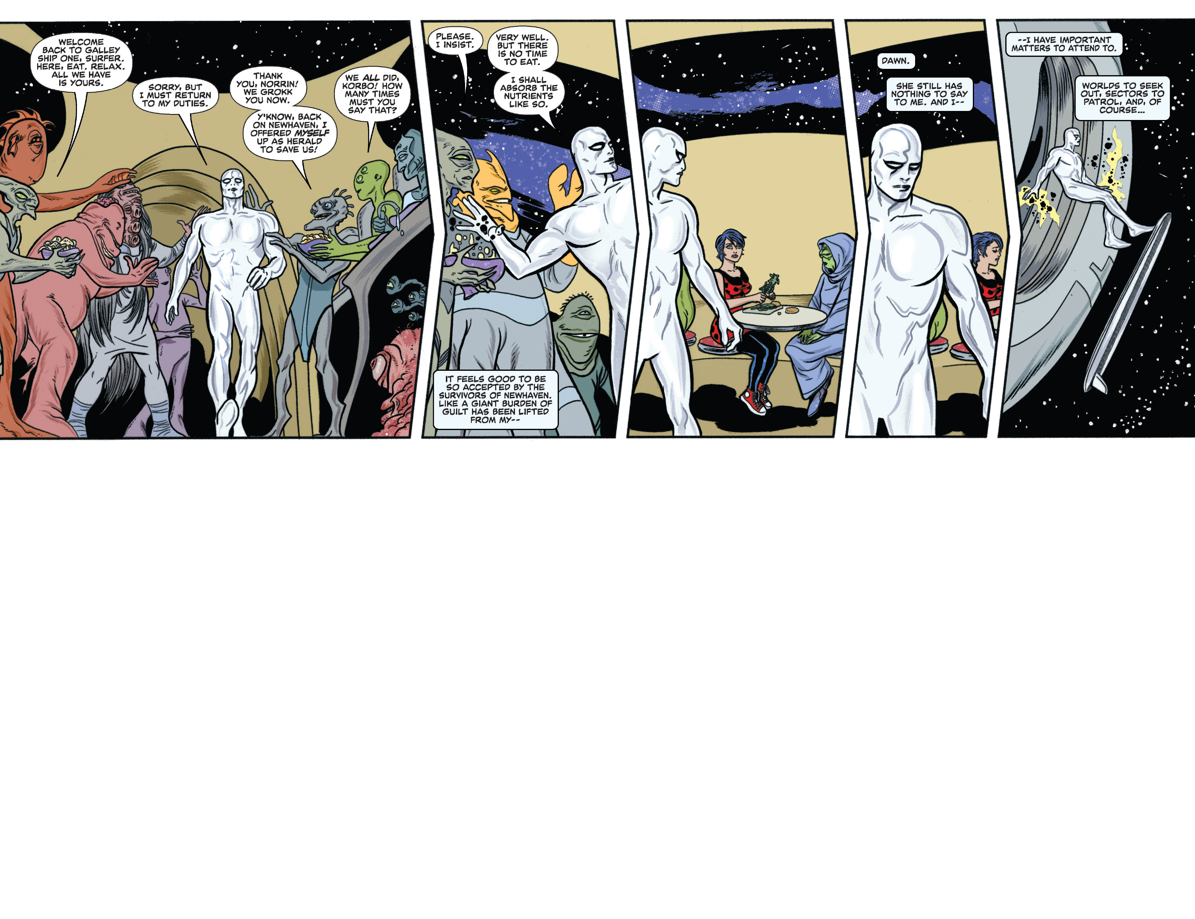 Read online Silver Surfer (2014) comic -  Issue #11 - 5
