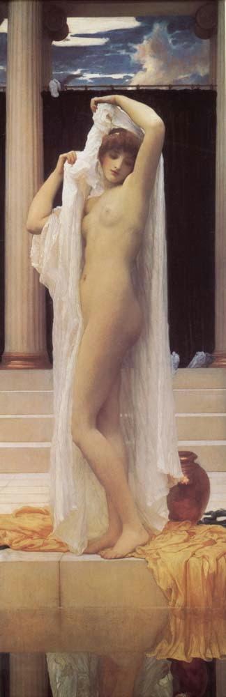O Banho de Psique - Lord Frederick, o mais famoso artista britânico do século XlX