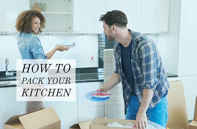 Pack and Move The Kitchen Items While Relocation.