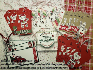 Quick and Easy Holiday Gift Tags Farmhouse Christmas and Cookie Cutter Christmas