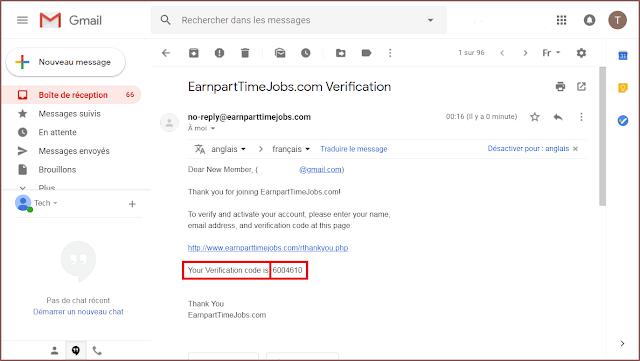 شرح موقع earnparttimejobs لربح 100 دولار أسبوعيا فقط عن طريق ادخال البيانات + 10 دولار هدية مع اثبات السحب