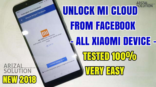 How To Unlock Mi Account Mi Cloud Xiaomi, Without a Computer / Pc