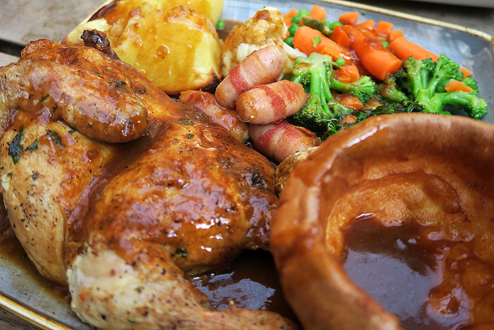 Nation of Shopkeepers chicken Sunday roast review