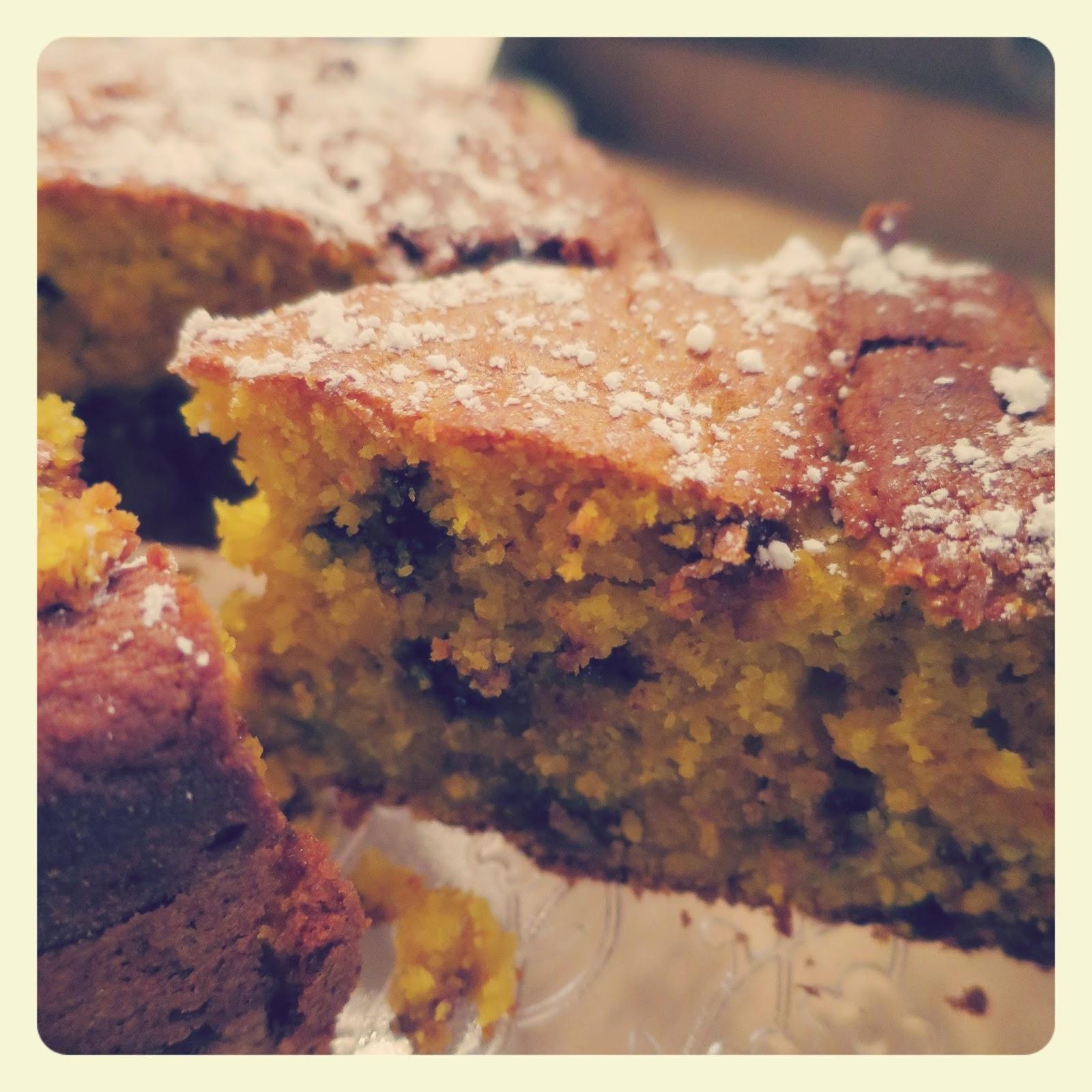 Torta Di Zucca E Gocce Di Cioccolato The Bluebird Kitchen