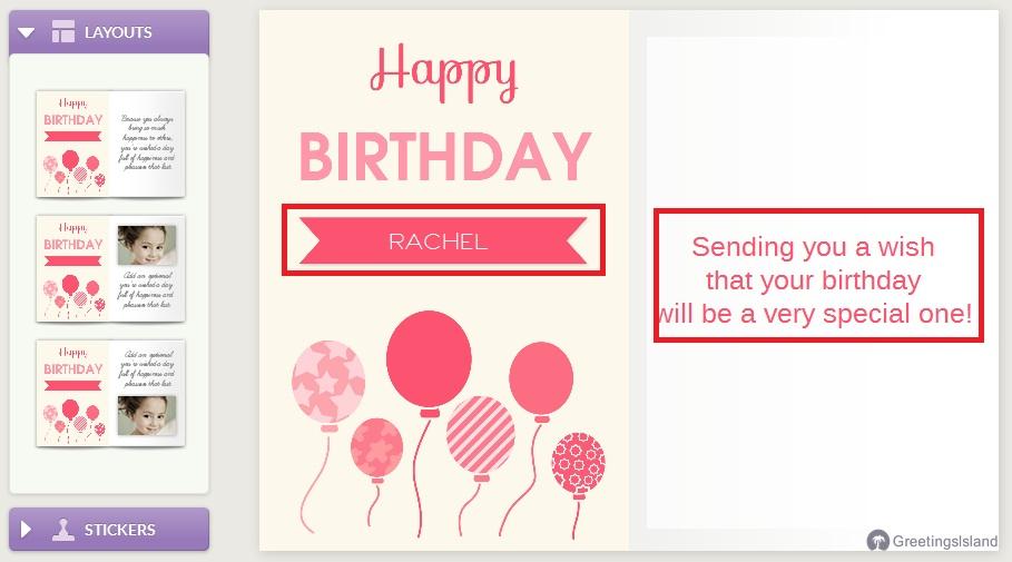 Trik Mudah membuat Kartu Ucapan Ulang Tahun Online - Aktif ...