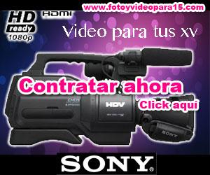 Contrata foto y video para xv años en la delegación Miguel Hidalgo
