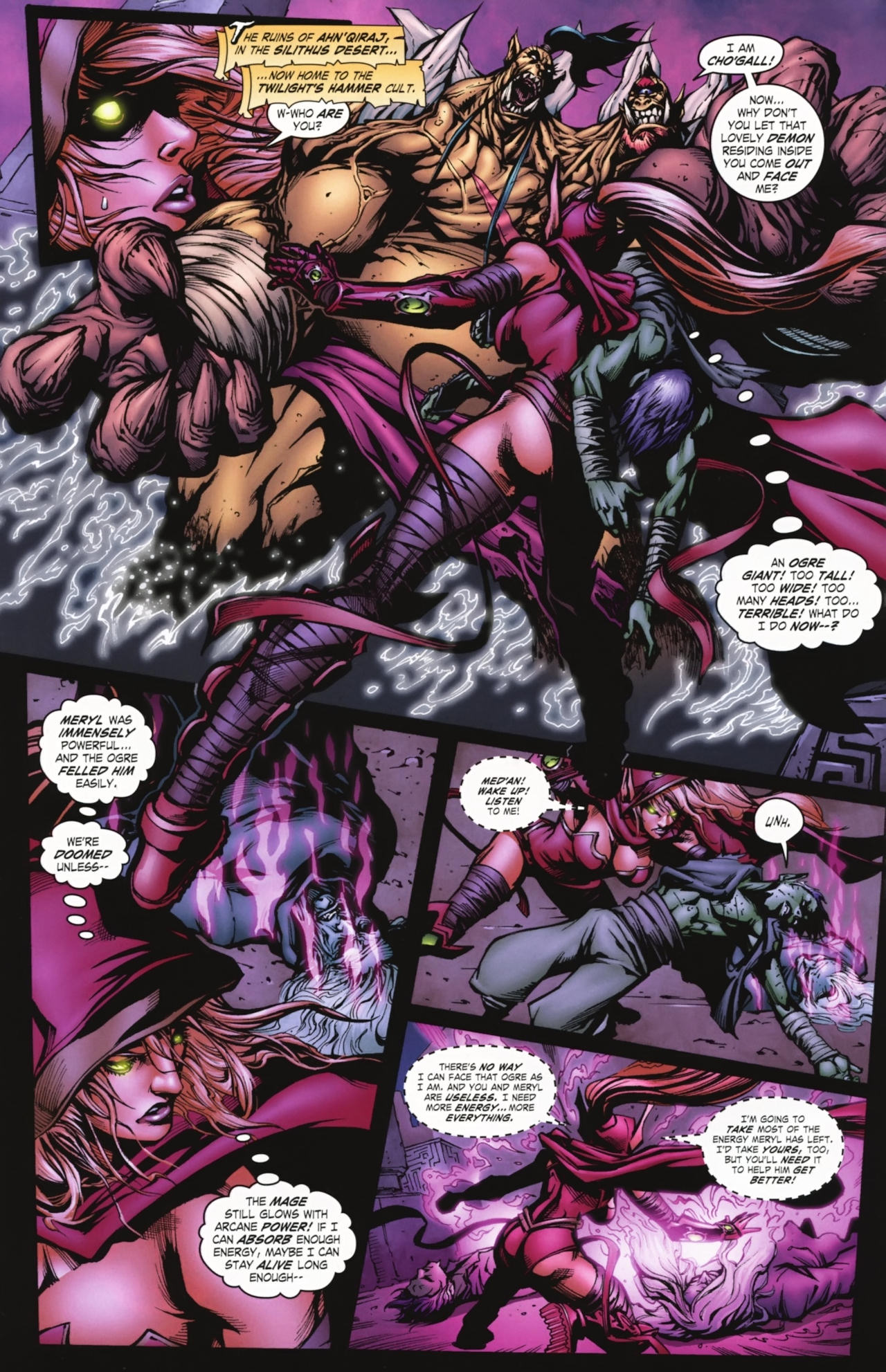 Read online World of Warcraft comic -  Issue #20 - 9