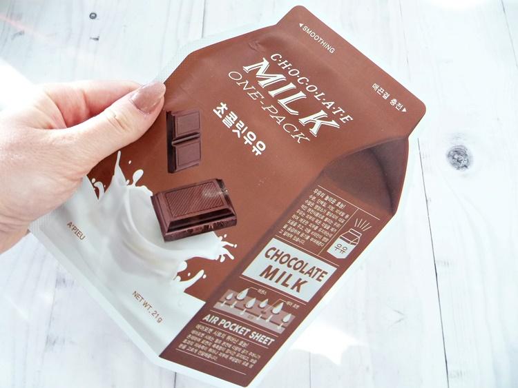 Maseczka w płachcie Chocolate Milk A'pieu
