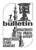 Alois Wokoun - Neafričanka malující africky (1/2002 Bulletin Společnosti přátel Afriky)