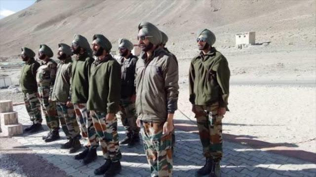 La India realiza ejercicios militares cerca de frontera con China