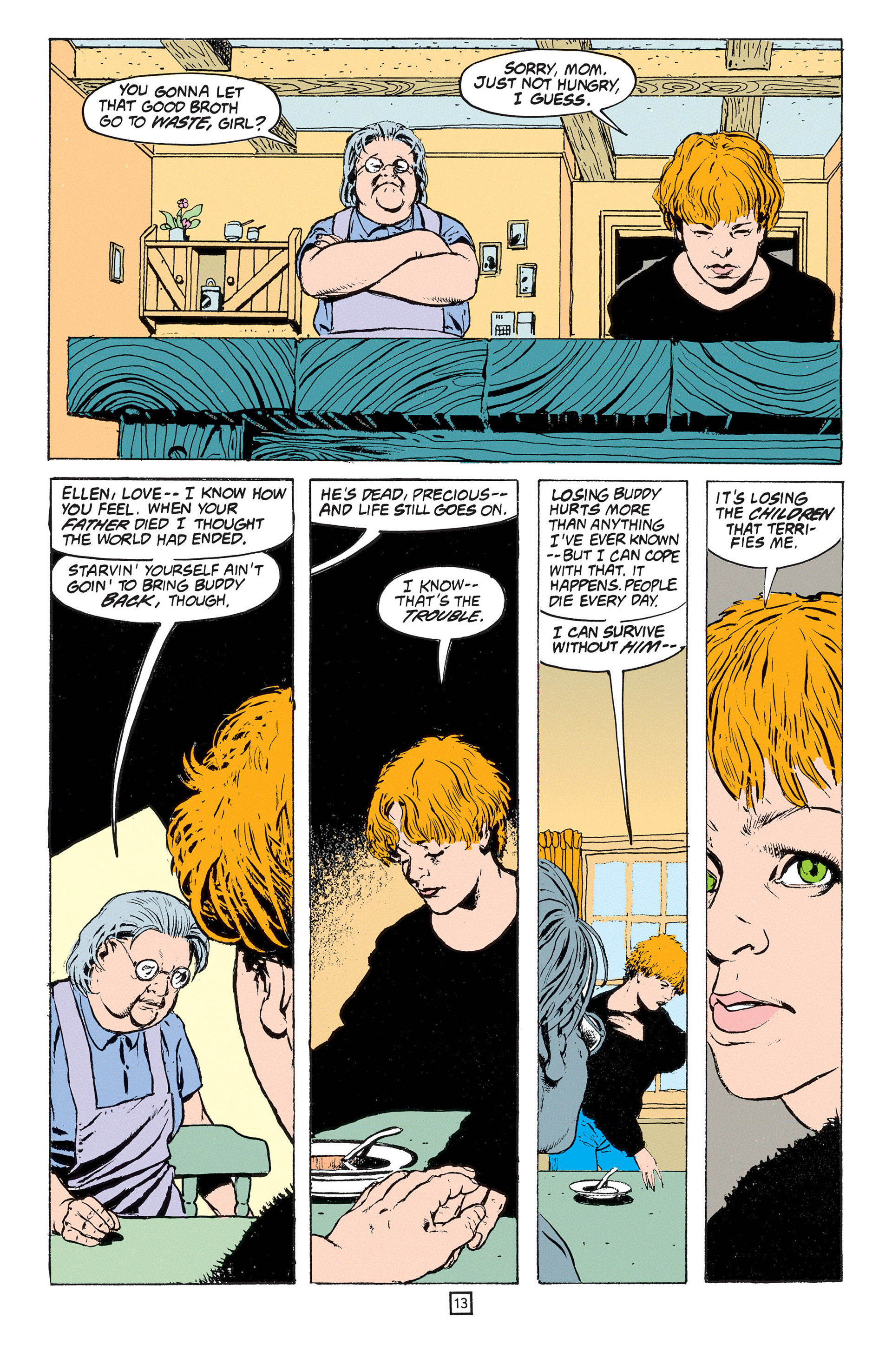 Read online Animal Man (1988) comic -  Issue #53 - 14