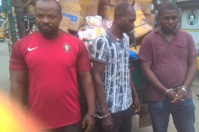 nollywood movie pirates arrested alaba market