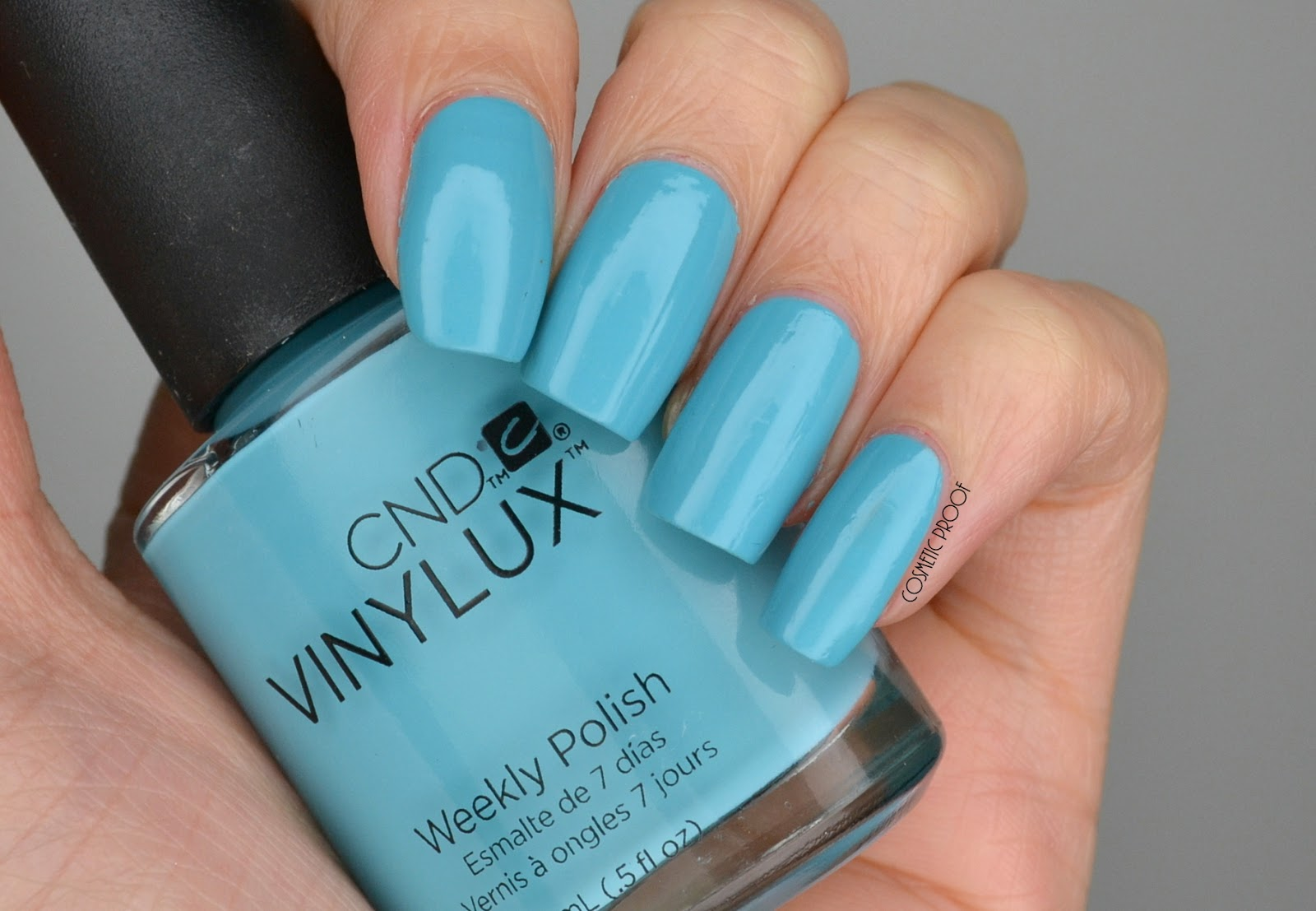 NAILS | CND Vinylux Aqua-Intance Swatch #LoveCND - Cosmetic