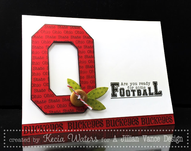 AJVD, Kecia Waters, Ohio State Football, Buckeyes, football