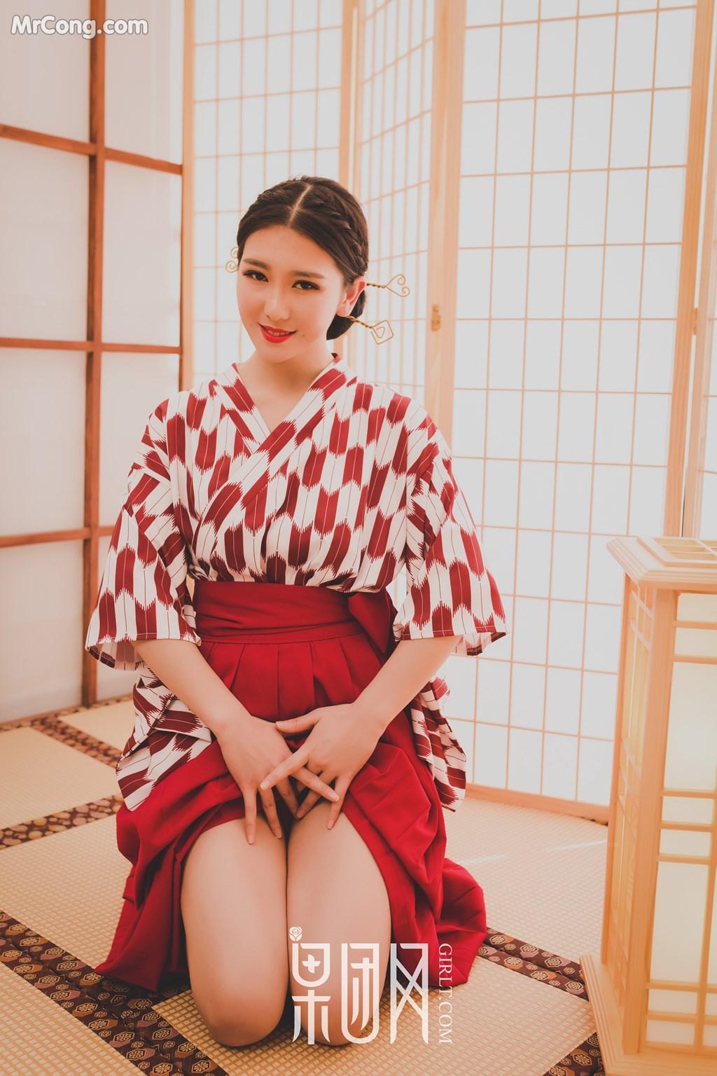 Image GIRLT-No.115-MrCong.com-004 in post GIRLT No.115 (51 ảnh)