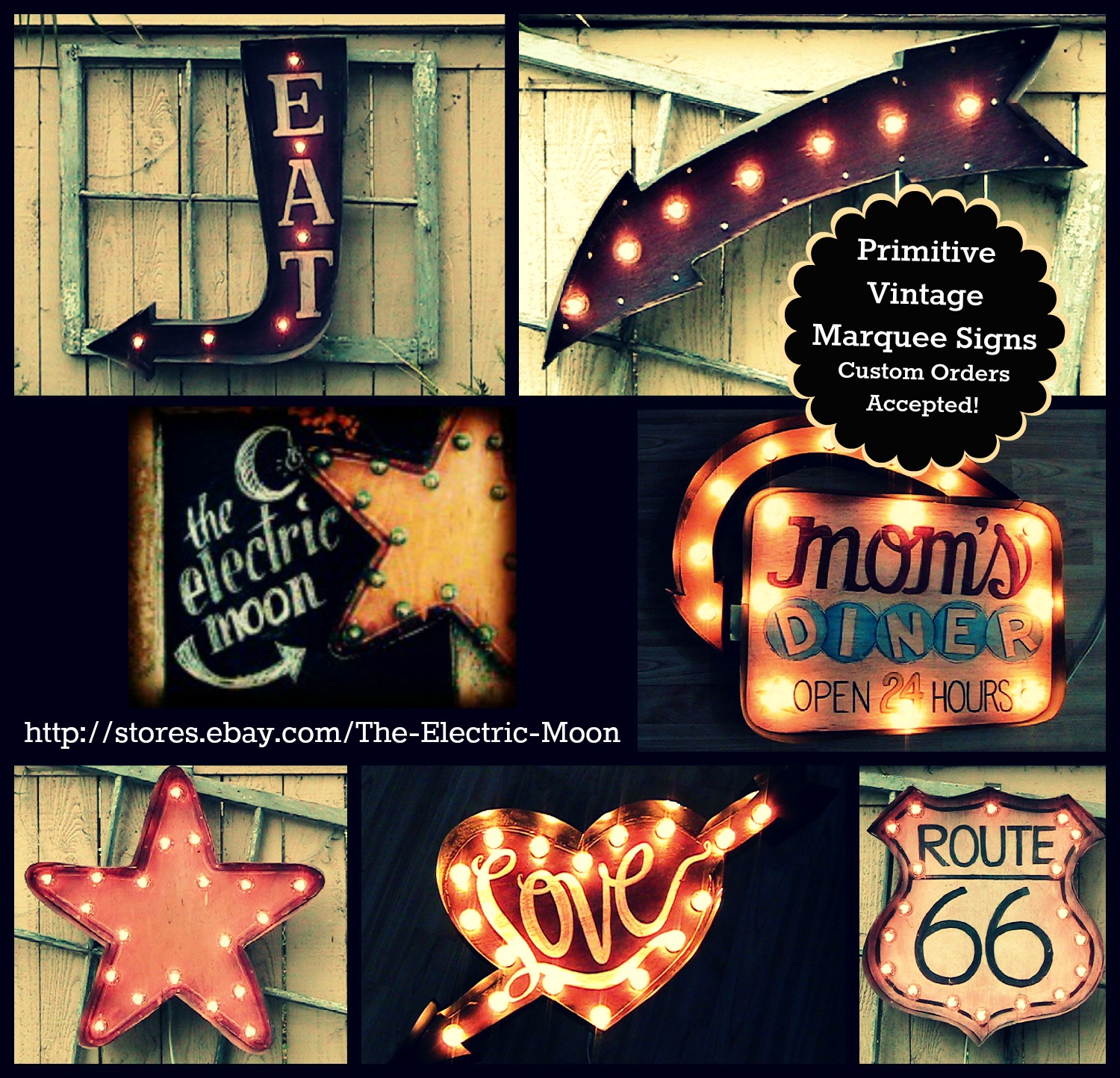Marquee and Vaudeville signs on Pinterest | Vintage Signs ...