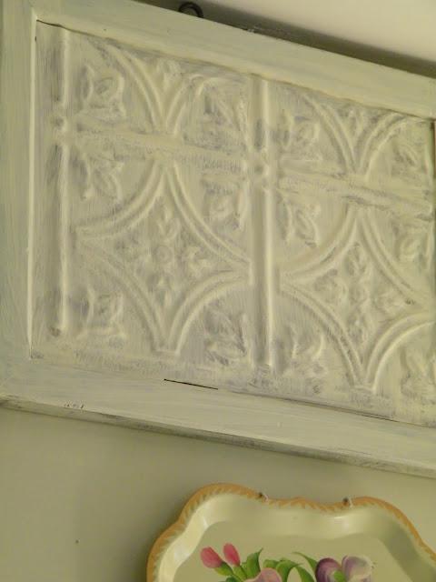 Maison Decor Tin Ceilings: Maison Decor: Project: Framed Tin Tile
