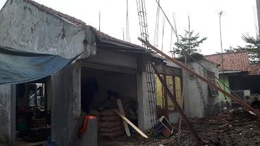 Pengerjaan pembangunan rumah tinggal, Cibitung - Bekasi