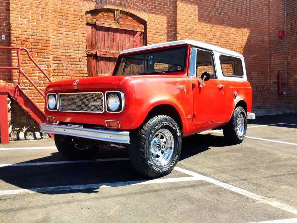 Really Great Condition, 1969 International Scout 800A
