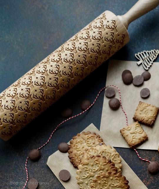 nouveaux cookies , trop mignon , chocolat , butterbredele , alsace