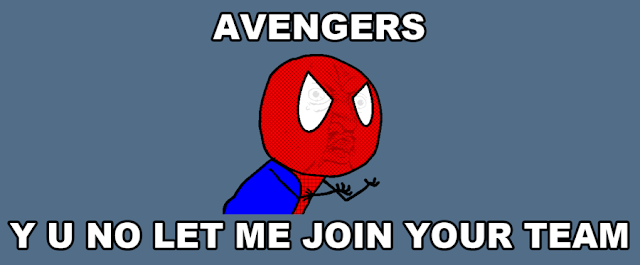 Spiderman not in Avengers meme