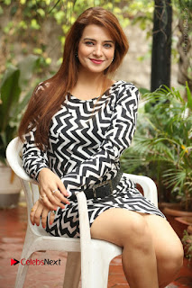 Actress Saloni Latest Pos in Short Dress  0234.JPG