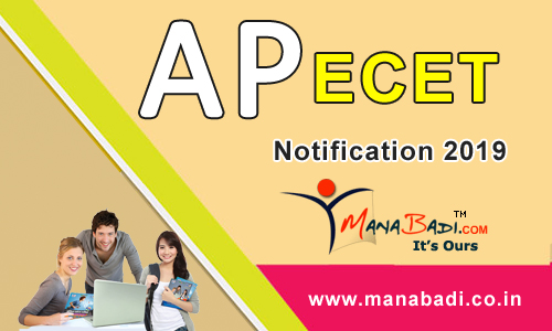 AP ECET Notification 2019