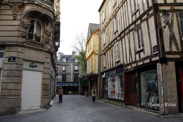 Rue des Orfebres,Vannes