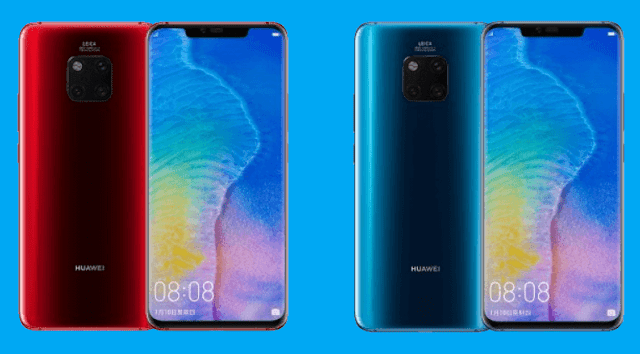 Huawei unveils new Mate 20 Pro Fragrant Red and Comet Blue color variants