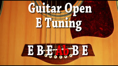 Gitar Open Tuning E