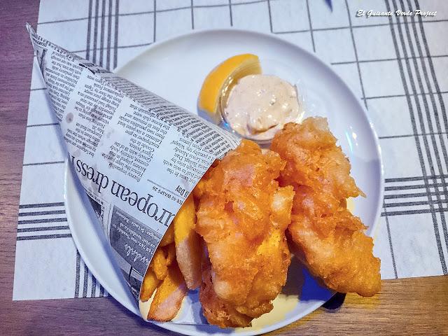 Fish & Chips del Dragøy, Tromsø - Noruega, por El Guisante Verde Project