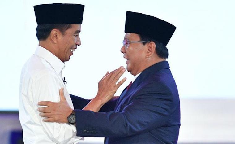 Hasil Hitung Cepat sementara Indo Barometer:  Suara Jokowi-Ma'ruf  Unggul dari Prabowo-Sandiaga