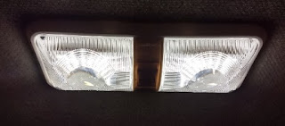 illuminated motorhome LED light fixture