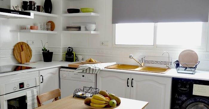 Una pizca de hogar reforma de mi cocina sin obras - Cambiar suelo cocina sin obra ...