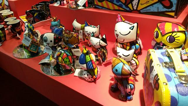 Estátuas de Romero Britto - House e Gift Fair