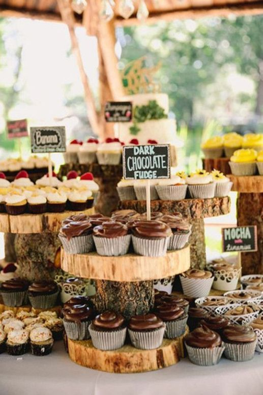 4 Tips To Style A Wedding Dessert Table And 25 Ideas - #Dessert #Ideas #Style #Table #Tips #wedding