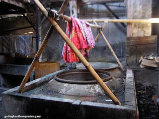 tempat cuci batik