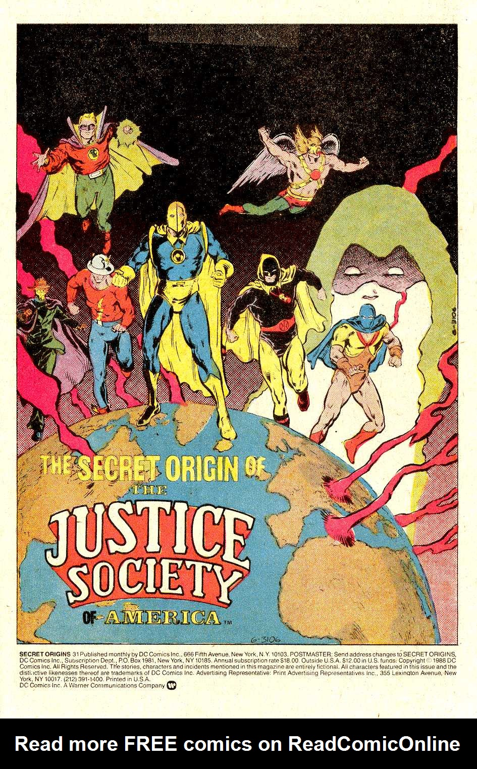 Read online Secret Origins (1986) comic -  Issue #31 - 2