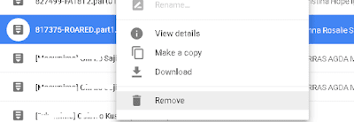 google drive failed to create file